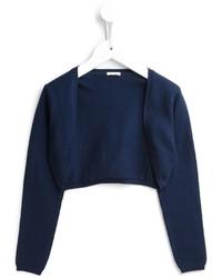 dunkelblaue Strickjacke von Il Gufo