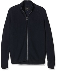 dunkelblaue Strickjacke von Jack & Jones