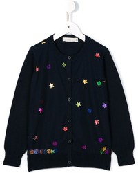 dunkelblaue Strickjacke von Stella McCartney