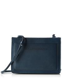 dunkelblaue Taschen von Balenciaga