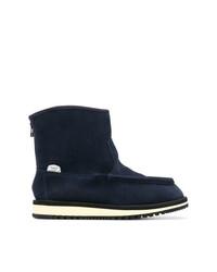 dunkelblaue Ugg Stiefel von Suicoke
