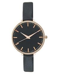 dunkelblaue Uhr von Anna Field