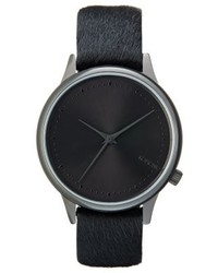 dunkelblaue Uhr von Komono