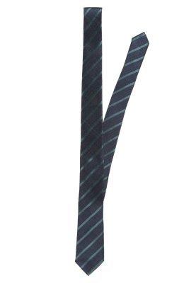 dunkelblaue vertikal gestreifte Krawatte von Esprit