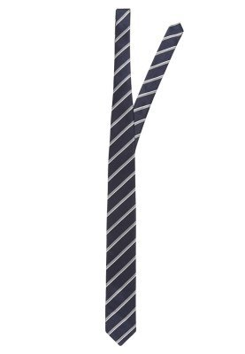 dunkelblaue vertikal gestreifte Krawatte von Jack & Jones
