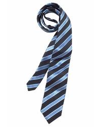 dunkelblaue vertikal gestreifte Krawatte von STUDIO COLETTI