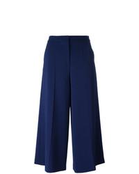 dunkelblaue weite Hose von Boutique Moschino