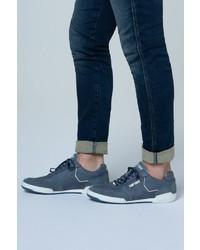 dunkelblaue Wildleder niedrige Sneakers von Camp David