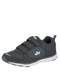dunkelblaue Wildleder niedrige Sneakers von Lico