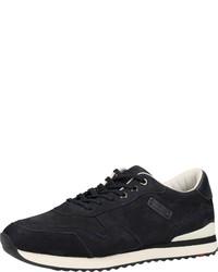 dunkelblaue Wildleder niedrige Sneakers von Lloyd