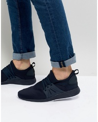dunkelblaue Wildleder niedrige Sneakers von Project Delray