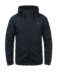 dunkelblaue Windjacke von Jack & Jones