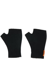 dunkelblaue Wollhandschuhe von Barena