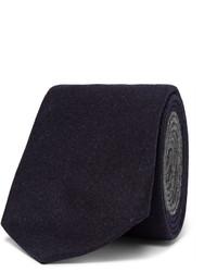 dunkelblaue Wollkrawatte von Brunello Cucinelli