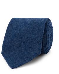 dunkelblaue Wollkrawatte von Lardini
