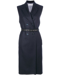 dunkelblauer ärmelloser Mantel von Golden Goose Deluxe Brand