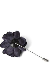 dunkelblauer Anstecknadel von Lanvin