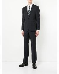 dunkelblauer Anzug mit Karomuster von Loveless