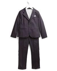 dunkelblauer Anzug von Armani Junior