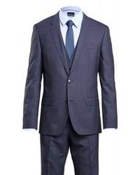 dunkelblauer Anzug von Hugo Boss