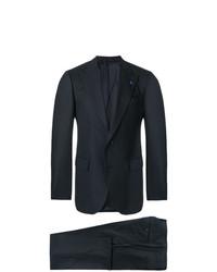 dunkelblauer Anzug von Lardini