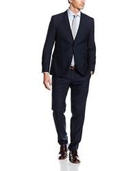 dunkelblauer Anzug von s.Oliver BLACK LABEL