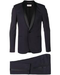 dunkelblauer Anzug von Saint Laurent