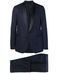 dunkelblauer Anzug von Salvatore Ferragamo