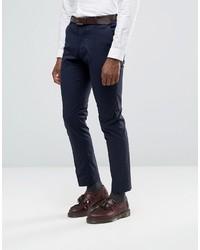 dunkelblauer Anzug von Selected