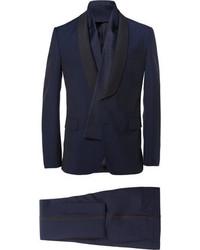 dunkelblauer Anzug von Valentino