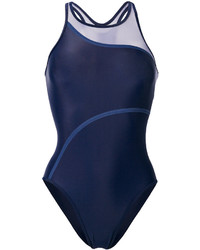 dunkelblauer Badeanzug von adidas by Stella McCartney