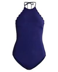 dunkelblauer Badeanzug von Zalando Essentials