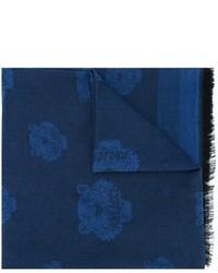 dunkelblauer Baumwollschal von Kenzo