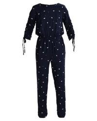 dunkelblauer bedruckter Jumpsuit von Vila