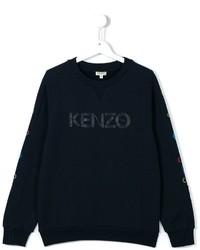 dunkelblauer bedruckter Pullover von Kenzo