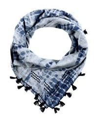 dunkelblauer bedruckter Schal von Esprit