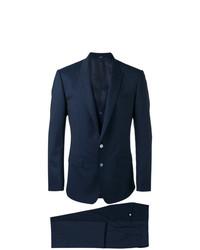 dunkelblauer Dreiteiler von Dolce & Gabbana