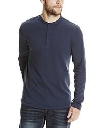 dunkelblauer Henley-Pullover von Bench