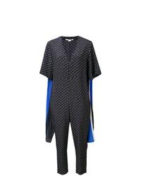 dunkelblauer horizontal gestreifter Jumpsuit von Stella McCartney