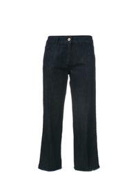 dunkelblauer Hosenrock aus Jeans von Blumarine