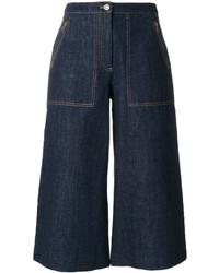 dunkelblauer Hosenrock aus Jeans von Kenzo