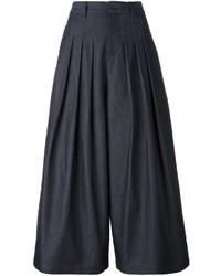 dunkelblauer Hosenrock aus Jeans von McQ by Alexander McQueen