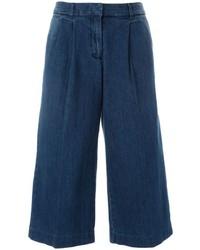 dunkelblauer Hosenrock aus Jeans von MICHAEL Michael Kors