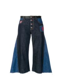dunkelblauer Hosenrock aus Jeans von Sonia Rykiel