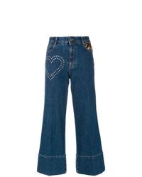 dunkelblauer Hosenrock aus Jeans von Stella McCartney