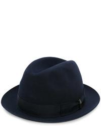 dunkelblauer Hut von Borsalino