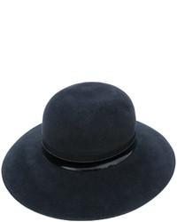 dunkelblauer Hut von Lanvin
