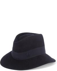 dunkelblauer Hut von Maison Michel