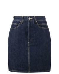 dunkelblauer Jeans Minirock von Calvin Klein 205W39nyc