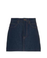 dunkelblauer Jeans Minirock von Calvin Klein Jeans Est. 1978